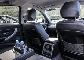 Executive car interior